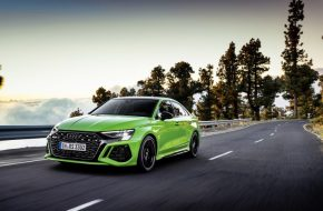 New, More Powerful Audi RS3 Unleashed