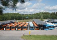 Finland Completes Largest Order of Electric Buses
