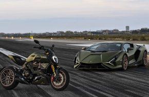 Ducati Unveils the Diavel 1260 Lamborghini