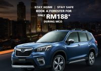 Book A Subaru Forester or XV Online for RM188