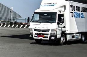 Australia's First Fuso eCanter Trucks Delivered