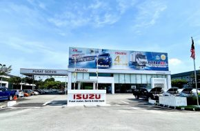 New Isuzu 3S Centre Opens in Taiping