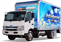 Hino uses hybrid battery power for greater efficiency