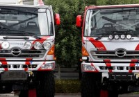 Hino prepares for 2015 Dakar Rally