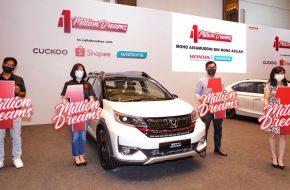 Honda Celebrates Selling 1 million Cars in Malaysia