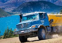 The Mercedes-Benz Zetros: Made for the Roughest Conditions