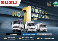 Isuzu Malaysia Records Highest Market Share Ever in 2020