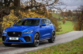 Jaguar Unveils the New F-Pace SVR