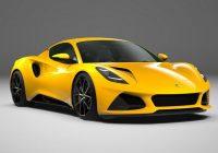 2022 Lotus Emira V6 First Edition Details Revealed