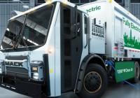 BEV battery-electric refuse truck from MACK Trucks