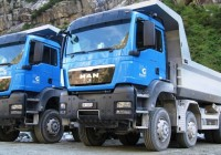 MAN TGS 41.480 8×4 BB Developed For Traction Applications