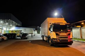 Mansang Trusts Scania to Transport Covid-19 Vaccine in Sarawak