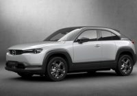 Mazda MX-30 Electric SUV Enters Production