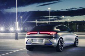 New Mercedes-Benz EQA Interior Teased