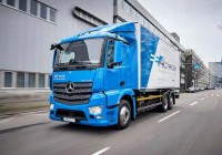 Mercedes-Benz e-Actros starts tests