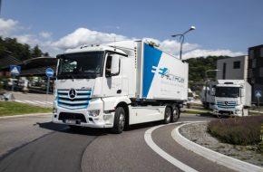 Mercedes-Benz eActros to Debut Next Week