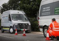 Mercedes-Benz Unveils Electric Roadside Assistance Van