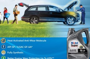Mobil Super 3000 Fully Synthetic Engine Oil Launched