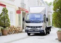 New Fuso Canter Makes European Debut