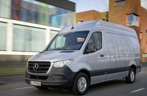 Mercedes-Benz Sprinter Gets New Engine
