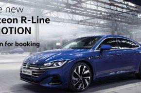 New Volkswagen Arteon R-Line open for booking – Around RM250,000