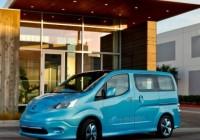 Nissan e-NV200 joins the Leaf on global stage