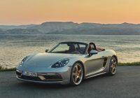 Porsche Celebrates Boxster's 25th Birthday With Special Model