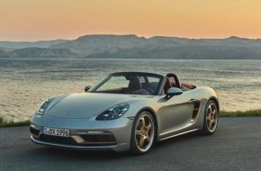 Porsche Celebrates Boxster's 25th Birthday With Special Model