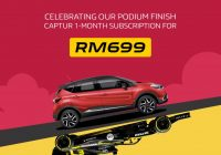 SAVE MORE THAN 50% ON A ONE-MONTH TRIAL WITH RENAULT CAPTUR