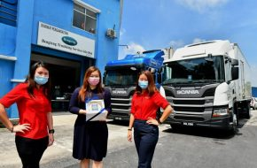 Scania Delivers Malaysia's First Temperature Control Boxed Truck