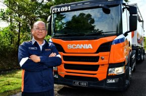 Chemtrax Expand Fleet with Latest Scania Trucks