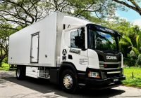 Mansang Logistics Signs Scania Ecolution Agreement