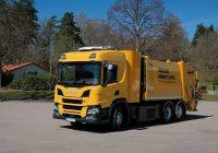 Sweden's First Scania Hydrogen Dump Truck Starts Work