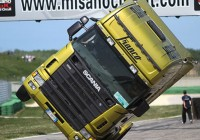 Scania On 2 Wheels In Misano
