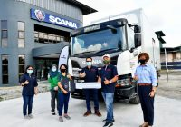 Scania Delivers First New Generation XT Truck in Sarawak