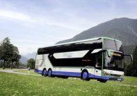 Setra Buses Take On the Alps Mountains