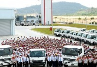 HINO rolls out first vehicle from Sendayan plant