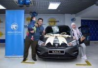 PROTON REWARDS LOYAL CUSTOMER WITH A NEW CAR