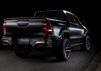 Toyota Hilux Gets WALD Tuned Black Bison Kit