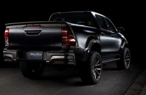 Toyota Hilux Gets WALD Tuned Black Bison Kit