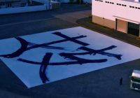 Watch UD Trucks Draw World's Largest Calligraphy