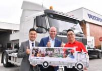 Volvo Trucks Donates A 4×2 Rigid Truck To Kechara Soup Kitchen
