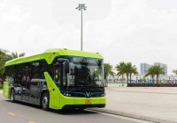 Vietnam Welcomes First Smart Electric Bus