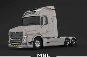 Volvo NH model preview before its launch