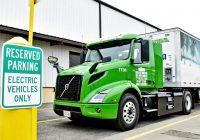 Volvo Trucks Deliver First VNR Electric in America