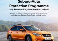 TC Subaru Introduces Subaru Auto Protection Programme