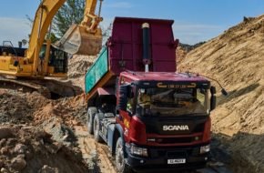 Scania XT Tipper Excels in Singapore