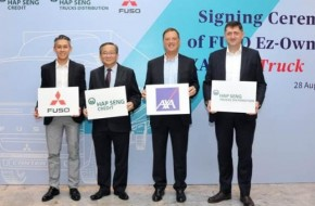 AXA And Hap Seng Launch Malaysia's First Telematics Commercial Vehicle Insurance & Financing