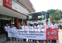 Hino Achieves 100,000 Sales Mark in Malaysia
