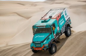 Team Petronas De Rooy Iveco Closes Dakar Rally 2019 With Podium Finish